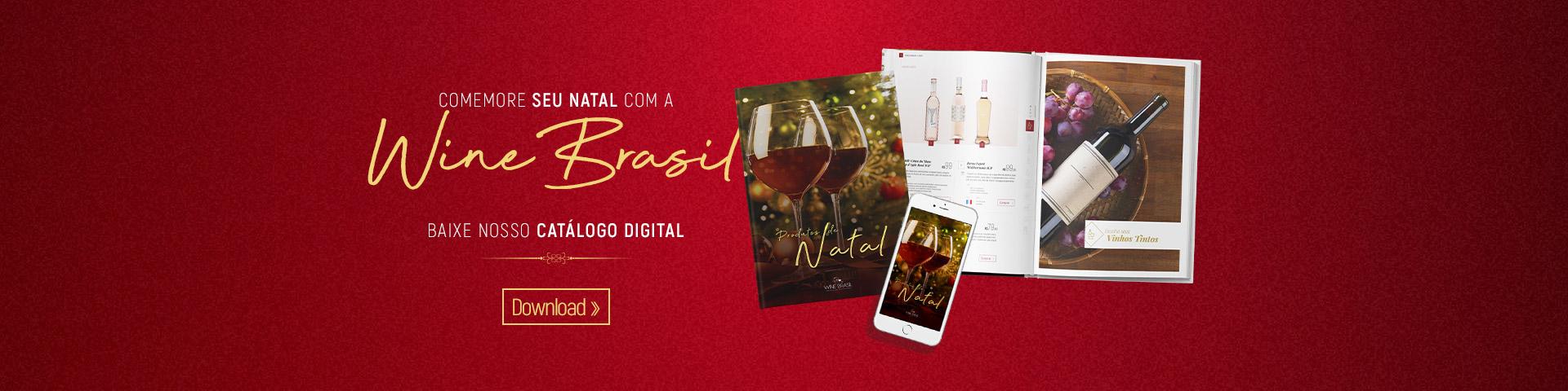Catálogo de Natal 2019 - Wine Brasil