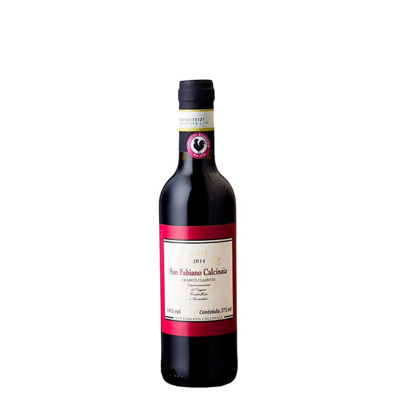 Mia Garrafa do vinho San Fabiano Calcinaia Chianti Classico 375ml