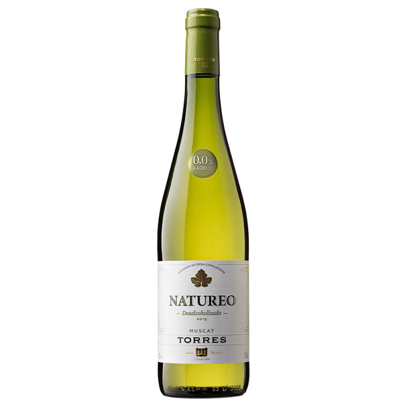 Vinho Sem Alcool Natureo Branco Muscat