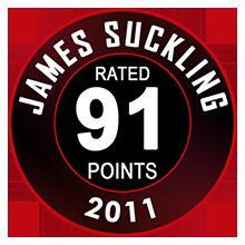 James Suckling 91 Pontos
