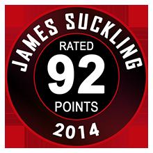 James Suckling 92 Pontos