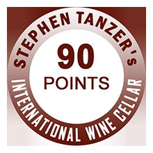 Stephen Tanzer's 90 pontos
