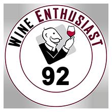 Wine Enthusiast 92 pontos