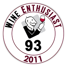 Wine Enthusiast 93 pontos