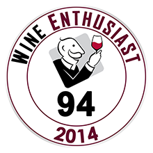 Wine Enthusiast 94 pontos