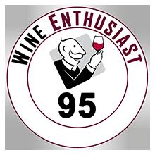 Wine Enthusiast 95 pontos