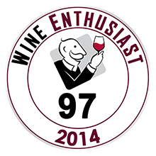 Wine Enthusiast 97 pontos