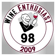 Wine Enthusiast 98 pontos