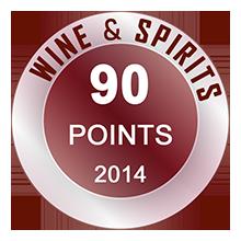 Wine & Spirits 90 Pontos