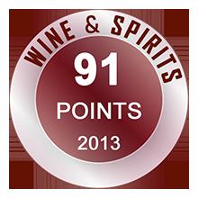 Wine & Spirits 91 pontos