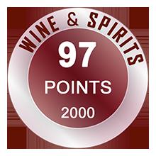 Wine & Spirits 97 pontos