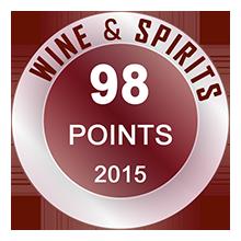 Wine & Spirits 98 pontos