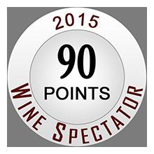 Wine Spectator 90 pontos