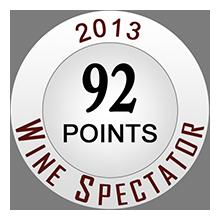 Wine Spectaror 92 pontos
