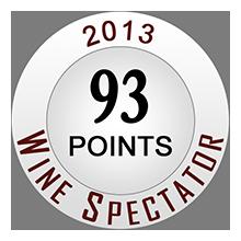 Wine Spectaror 93 pontos