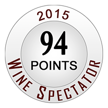 Wine Spectaror 94 pontos