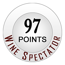 Wine Spectaror 97 pontos
