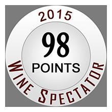 Wine Spectaror 98 pontos